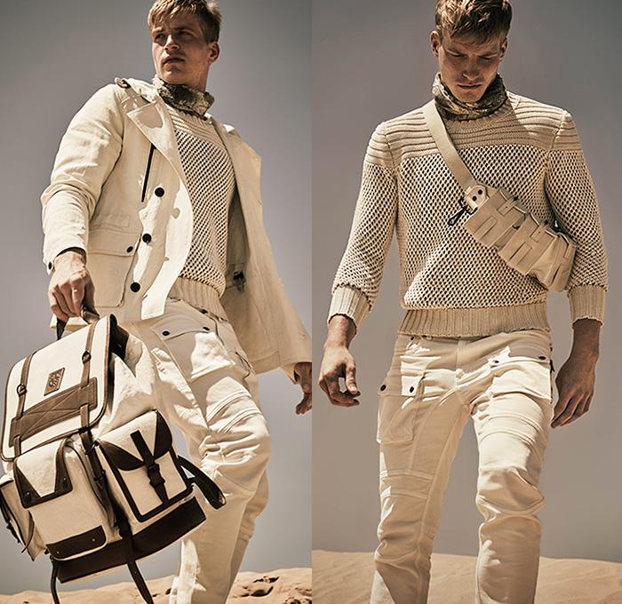Belstaff England 2016 Spring Summer Mens Looks Presentation Denim Jeans Fashion Week Runway